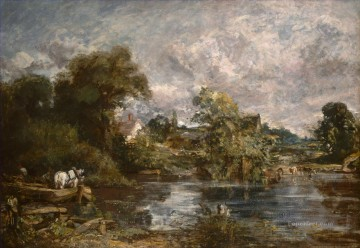 The White Horse Romantic John Constable Oil Paintings