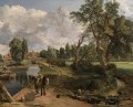 Flatford Mill CR Romantic John Constable