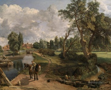 Flatford Mill CR Romantic John Constable Oil Paintings