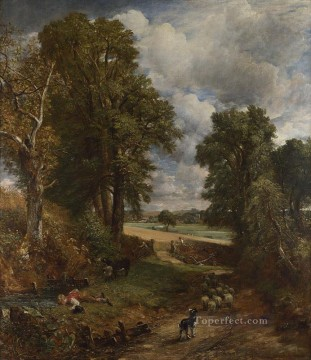 The Cornfield Romantic John Constable Oil Paintings