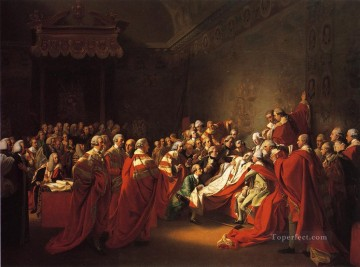 The Colapse of the Earl of Chatham in the House of Lords aka The Death of t colonial New England John Singleton Copley Oil Paintings