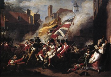 The Death of Major Pierson colonial New England John Singleton Copley Oil Paintings