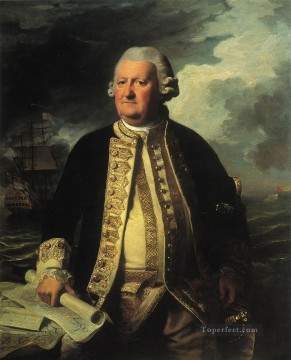 Clark Gayton Admiral of the White colonial New England Portraiture John Singleton Copley Oil Paintings