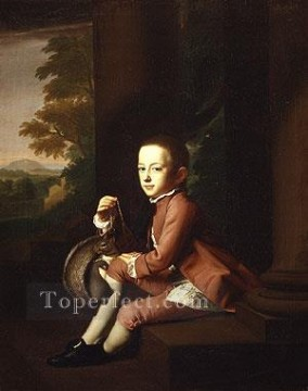 lan art - Daniel Crommelin Verplanck colonial New England Portraiture John Singleton Copley