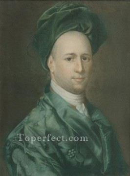 Portraiture Deco Art - Ebenezer Storer colonial New England Portraiture John Singleton Copley