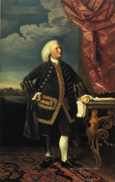 Portraiture Deco Art - Jeremiah Lee colonial New England Portraiture John Singleton Copley
