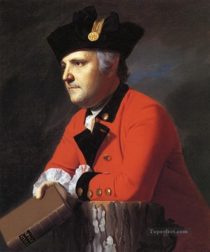 Portraiture Deco Art - John Montresor colonial New England Portraiture John Singleton Copley