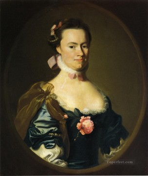 Portraiture Deco Art - Lydia Lynde colonial New England Portraiture John Singleton Copley