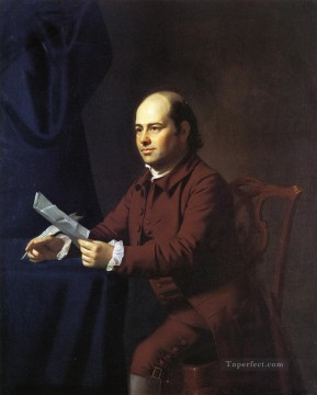 New Deco Art - Miles Sherbrook colonial New England Portraiture John Singleton Copley