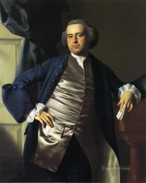 Portraiture Deco Art - Moses Gill colonial New England Portraiture John Singleton Copley
