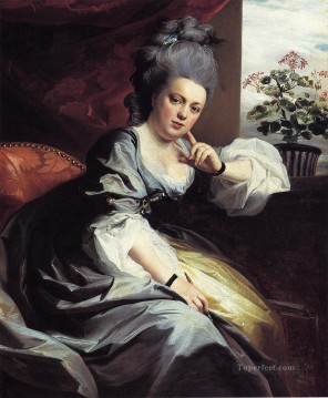Portraiture Deco Art - Mrs Clark Gayton colonial New England Portraiture John Singleton Copley