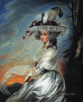 Mrs Daniel Denison Rogers Abigail Bromfield colonial New England Portraiture John Singleton Copley Oil Paintings