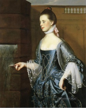 Mrs Daniel Sargent Mary Turner Sargent colonial New England Portraiture John Singleton Copley Oil Paintings