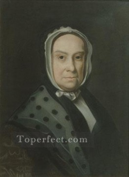 Portraiture Deco Art - Mrs Ebenezer Storer colonial New England Portraiture John Singleton Copley