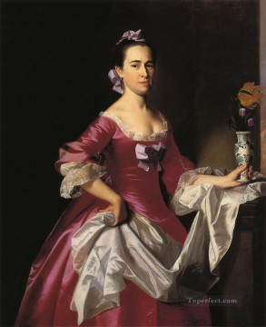 George Painting - Mrs George Watson Elizabeth Oliver colonial New England Portraiture John Singleton Copley