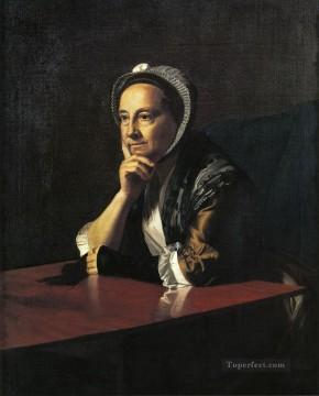 Mrs Humphrey Devereux Mary Charnock colonial New England Portraiture John Singleton Copley Oil Paintings