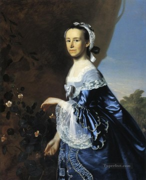 lan art - Mrs James Warren Mercy Otis colonial New England Portraiture John Singleton Copley