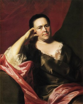 Portraiture Deco Art - Mrs John Scoally Mercy Greenleaf colonial New England Portraiture John Singleton Copley