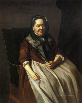 Portraiture Deco Art - Mrs Paul Richard Elizabeth Garland colonial New England Portraiture John Singleton Copley