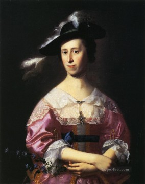 Mrs Samuel Quincy Hannah Hill colonial New England Portraiture John Singleton Copley Oil Paintings