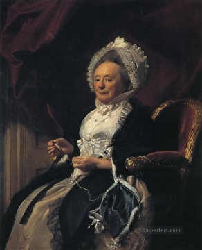 Portraiture Deco Art - Mrs Seymour Fort colonial New England Portraiture John Singleton Copley