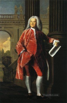 Portraiture Deco Art - Nathaniel Sparhawk colonial New England Portraiture John Singleton Copley