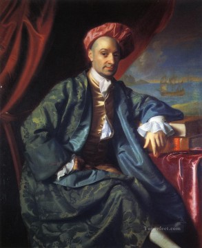 Nicholas Boylston2 colonial New England Portraiture John Singleton Copley Oil Paintings