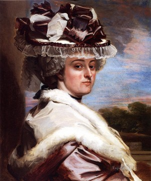 Portraiture Deco Art - Portrait of Letitia F Balfour colonial New England Portraiture John Singleton Copley