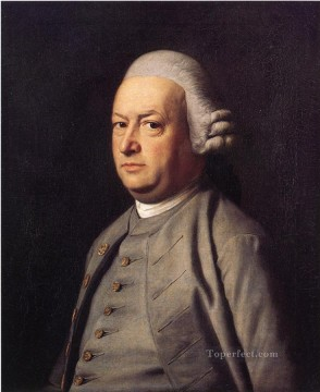 lan art - Portrait of Thomas Flucker colonial New England Portraiture John Singleton Copley