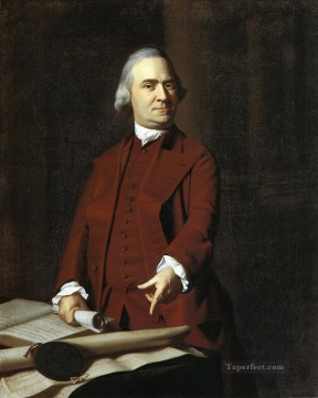 lan art - Samuel Adams colonial New England Portraiture John Singleton Copley