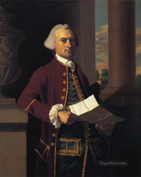 Portraiture Deco Art - Woodbury Langdon colonial New England Portraiture John Singleton Copley