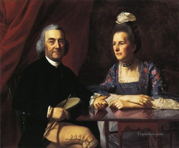 Mr and Mrs Isaac Winslow Jemina Debuke colonial New England Portraiture John Singleton Copley Oil Paintings