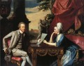 Mr and Mrs Ralph Izard Alice Delancey colonial New England Portraiture John Singleton Copley