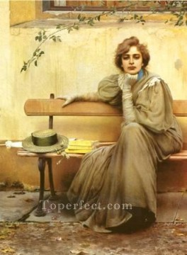 Woman Painting - Sogni IGR 3001471 woman Vittorio Matteo Corcos
