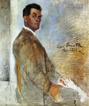 Heinrich Canvas - Portrait of Franz Heinrich Corinth unfinished Lovis Corinth