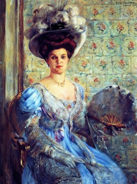 Countess Art - Portrait of Eleonore von Wilke Countess Finkh Lovis Corinth