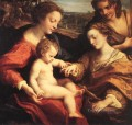 The Mystic Marriage Of St Catherine 2 Renaissance Mannerism Antonio da Correggio