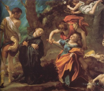 The Martyrdom of Four Saints Renaissance Mannerism Antonio da Correggio Oil Paintings