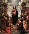 Immaculate Conception with Saints Renaissance Piero di Cosimo