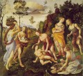 Lorenzo di Credi The Finding of Vulcan on Lemnos 1495 Renaissance Piero di Cosimo