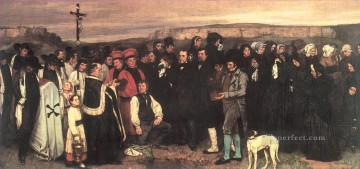 realism realist Painting - A Burial at Ornans Realist Realism painter Gustave Courbet