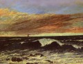 La Vague Realist painter Gustave Courbet