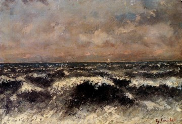 Marine Realist painter Gustave Courbet Oil Paintings