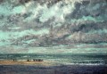 Marine Les Equilleurs Realist Realism painter Gustave Courbet