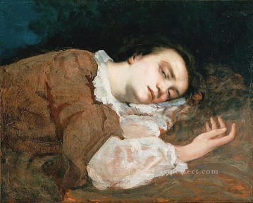 realism painting - Study for Les Demoiselles des bords de la Seine Ete Realist Realism painter Gustave Courbet