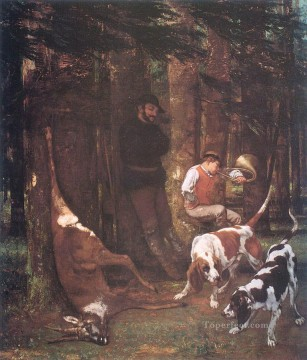 realism realist Painting - The Quarry Realist Realism painter Gustave Courbet