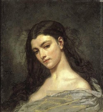 Head Art - Female Head figure painter Thomas Couture