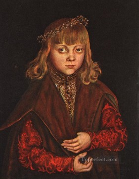 AX Painting - A Prince Of Saxony Renaissance Lucas Cranach the Elder