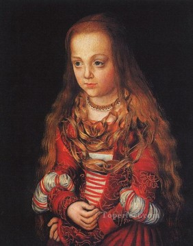 AX Painting - A Princess Of Saxony Renaissance Lucas Cranach the Elder