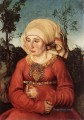 Portrait Of Frau Reuss Renaissance Lucas Cranach the Elder